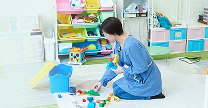 子育て支援診療所を目指した無料託児センター