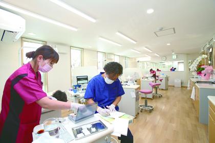 歯科医師の方へポイント1 先生の将来をサポートします!